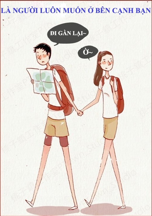 Đi đâu cũng sợ bạn gái đi lạc.(Nguồn: Weibo)
