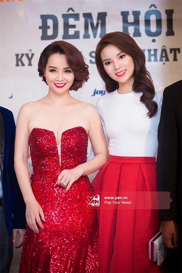 Nữ diễn viên đảm nhận vai trò MC cho sự kiện. - Tin sao Viet - Tin tuc sao Viet - Scandal sao Viet - Tin tuc cua Sao - Tin cua Sao