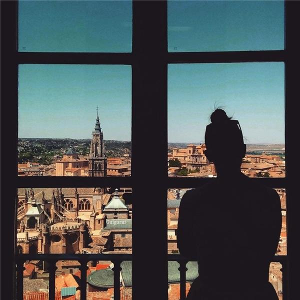 Lặng yên ngắm nhìn thành phố Toledo, Tây Ban Nha.(Ảnh: Guigurui)