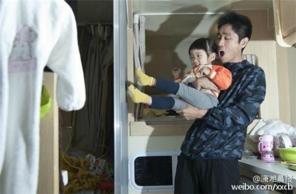 Zhu và côcon gái 2 tuổi. (Nguồn: Internet)
