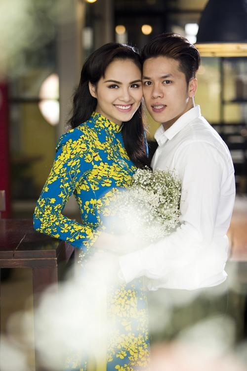 Trước đó, Quang Huy - Diễm Hương đã thực hiện một bộ ảnh cưới vô cùngngọt ngào. - Tin sao Viet - Tin tuc sao Viet - Scandal sao Viet - Tin tuc cua Sao - Tin cua Sao