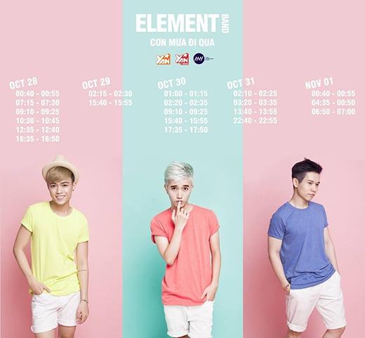 Element Band - Tin sao Viet - Tin tuc sao Viet - Scandal sao Viet - Tin tuc cua Sao - Tin cua Sao