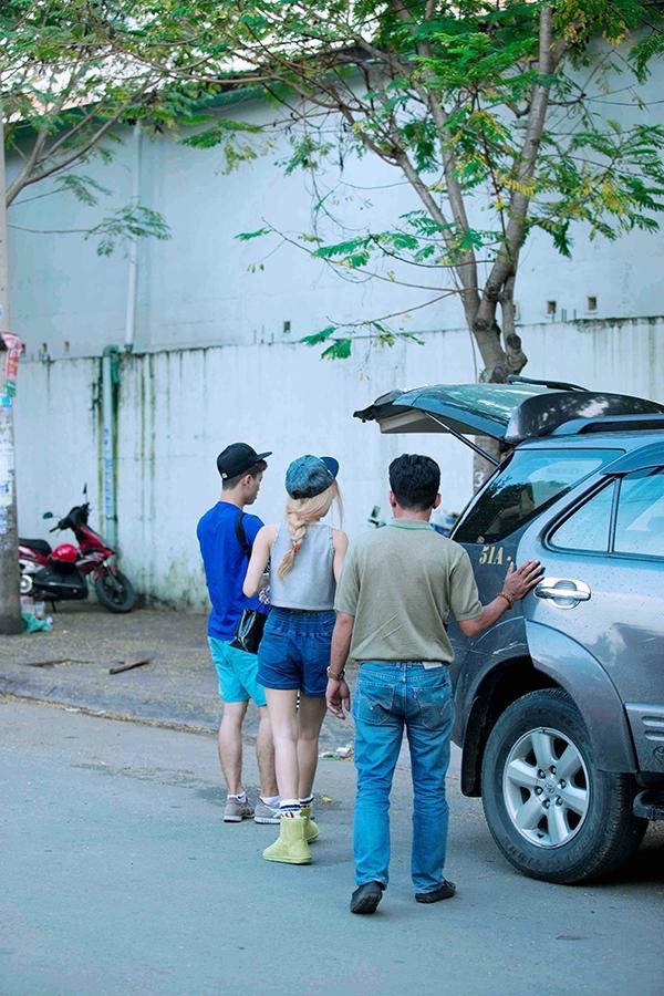 Đông Nhi, Trang Pháp tông xuyệt tông đọ tóc vàng nổi bật - Tin sao Viet - Tin tuc sao Viet - Scandal sao Viet - Tin tuc cua Sao - Tin cua Sao