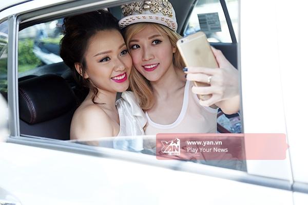 Và tiếp tục selfie trong mọi hoàn cảnh. - Tin sao Viet - Tin tuc sao Viet - Scandal sao Viet - Tin tuc cua Sao - Tin cua Sao