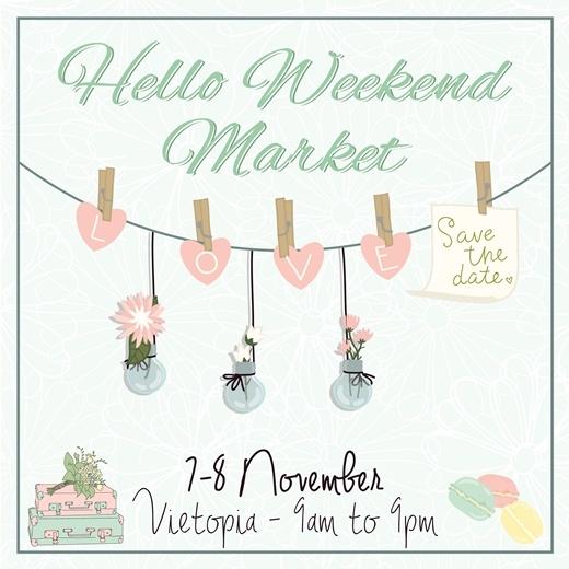 """Hội ngộ phim """"Yêu"""" tại Hello Weekend Market"""