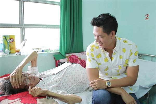 Bình Minh động viên Nguyễn Hoàng sớm vượt qua bạo bệnh - Tin sao Viet - Tin tuc sao Viet - Scandal sao Viet - Tin tuc cua Sao - Tin cua Sao