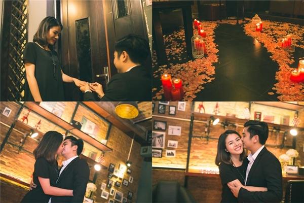Màn cầu hôn lãng mạn của bạn trai Vân Trang trước đó. - Tin sao Viet - Tin tuc sao Viet - Scandal sao Viet - Tin tuc cua Sao - Tin cua Sao