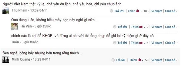 Một vài lời bình luận từ cộng đồng mạng (Ảnh: Chụp màn hình)