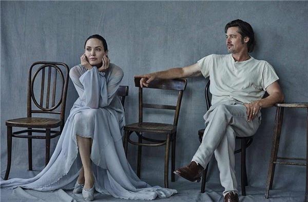 Angelina Jolie và Brad Pitt khiến cả thế giới 'tan chảy' vì quá ngọt ngào