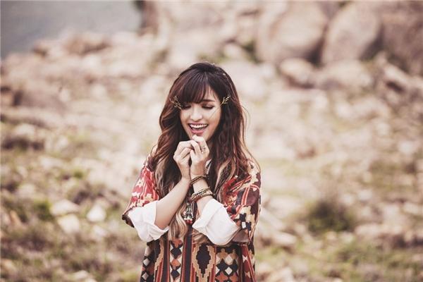 Phong cách thời trang của cô nàng ngày càng được đánh giá cao. - Tin sao Viet - Tin tuc sao Viet - Scandal sao Viet - Tin tuc cua Sao - Tin cua Sao