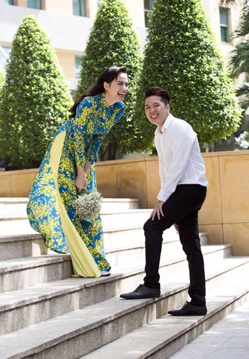 Có lẽ nhiều người sẽ thấy bất ngờ trước bộ ảnh cưới khá đơn giản của Diễm Hương. - Tin sao Viet - Tin tuc sao Viet - Scandal sao Viet - Tin tuc cua Sao - Tin cua Sao
