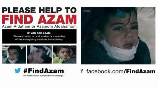 Nỗ lực tìm kiếm Azam của nhà báo Sweeney. (Ảnh: BBC)