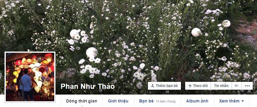 Ảnh bìa được cho là hoàn toàn trùng khớp với không gian buổi lễtrên trang cá nhân của Phan Như Thảo. - Tin sao Viet - Tin tuc sao Viet - Scandal sao Viet - Tin tuc cua Sao - Tin cua Sao