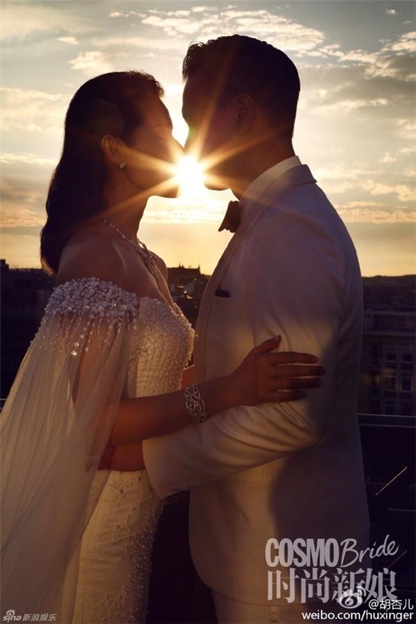 Hồ Hạnh Nhi chia sẻ ảnh cưới trên trang cá nhân.