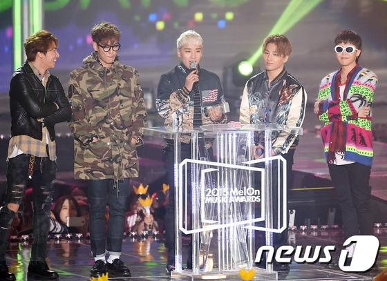 Big Bang thắng lớn tại Melon Music Awards 2015