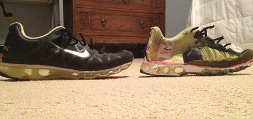 Đôi giày bạn đi hàng ngày. (Ảnh: Internet)