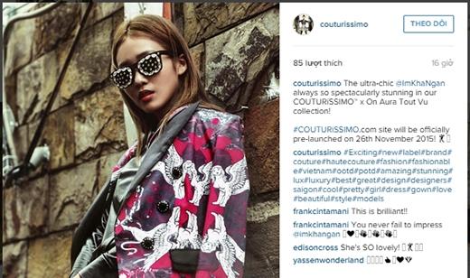 Không những thế, cácchuyên gia thời trang tên tuổi đến từ Singapore, Philippine hay Malaysia cũng dành nhiều lời có cánh cho Khả Ngân. - Tin sao Viet - Tin tuc sao Viet - Scandal sao Viet - Tin tuc cua Sao - Tin cua Sao