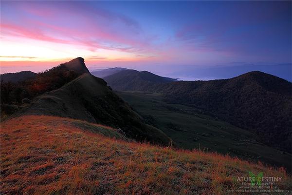 Doi Hau Singh là khu vực đỉnh của Doi Chong Mon - ngọn đồi cao nhất ở khu bảo tồn hoang dã Om Koi. (Ảnh: Internet)