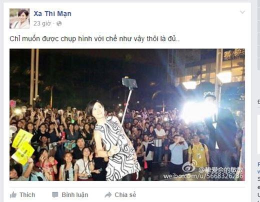 """Fan Việt """"rần rần"""" chuẩn bị chào đón Xa Thi Mạn sang Việt Nam"""