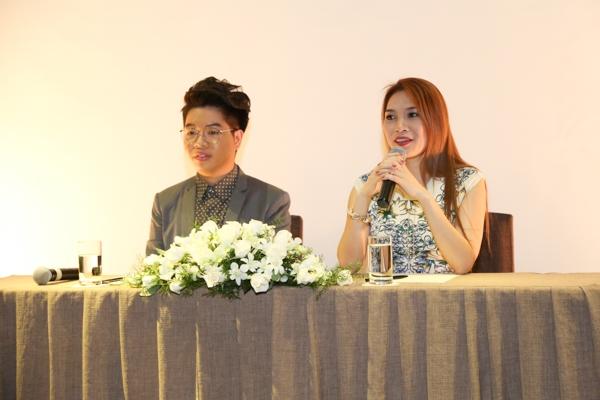 Ngay trong buổi họp báo, hai cô trò cũng đã nhận được khá nhiều câu hỏi từ phía truyền thông. - Tin sao Viet - Tin tuc sao Viet - Scandal sao Viet - Tin tuc cua Sao - Tin cua Sao