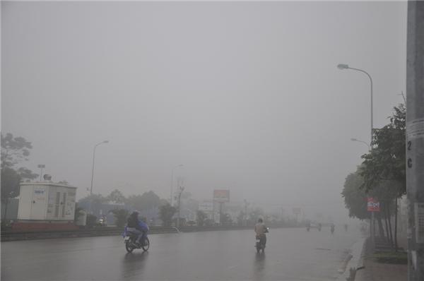 Sương mù ở Hà Nội. (Ảnh: Internet)