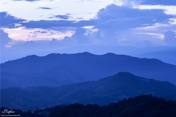 Nằm cách Chiang Rai 52km, Doi Kat Phee chủ yếu là địa hình đồi núi.(Ảnh: Internet)