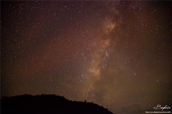Bầu trời đầy sao khi đêm về...(Ảnh: Internet)