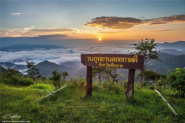 Một điểm cộng cho Doi Kat Phee là bạn không cần phải lo về đoạn đường lên núi vì sẽ có dịch vụ xe đưa bạn lên để tha hồ ngắm mặt trời mọc.(Ảnh: Internet)