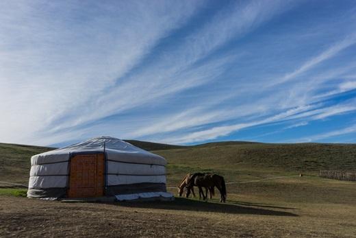 Phần lớn đất đai Mông Cổ không thể trồng trọt được, chủ yếu là thảo nguyên, đồi núi và sa mạc.(Ảnh: Internet)