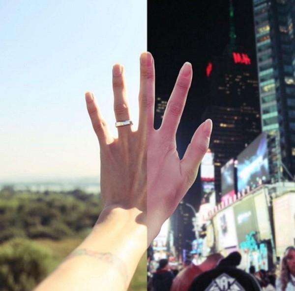 """Với cái tên""""Touch"""" (Chạm), bức ảnhnày nhận được rất nhiều sự yêu thích từ cộng đồng mạng bởi chính ý nghĩa gắn kếtđặc biệt từ nó."""