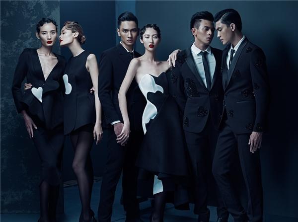 Hình ảnh chính thức show diễn Thu Đông 2015 của Đỗ Mạnh Cường.