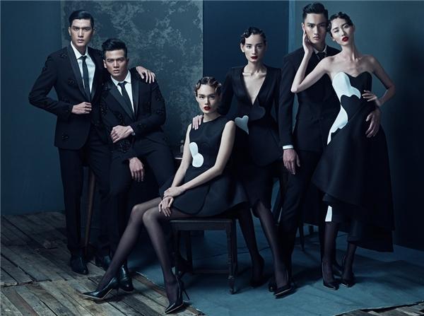 6 trong 80 người mẫu sẽ tham gia trình diễn cho bộ sưu tập Love - Tình Yêu.