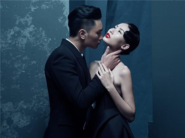 Trong khi đó, Hằng Nguyễn và Huy Quang lại thể hiện tình yêu với những rung cảm nhẹ nhàng, sâu lắng.