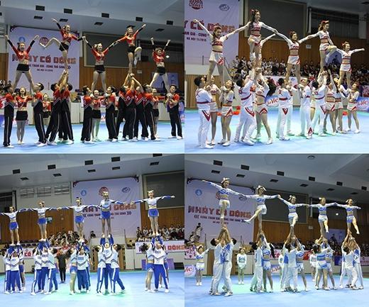 Hình ảnh 4 đội xuất sắc bước vào chung kết khu vực Hà Nội.