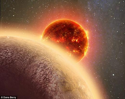 Hành tinh mới được phát hiện có kích thước khá tương đồng với Trái đất. (Ảnh: Dana Berry)