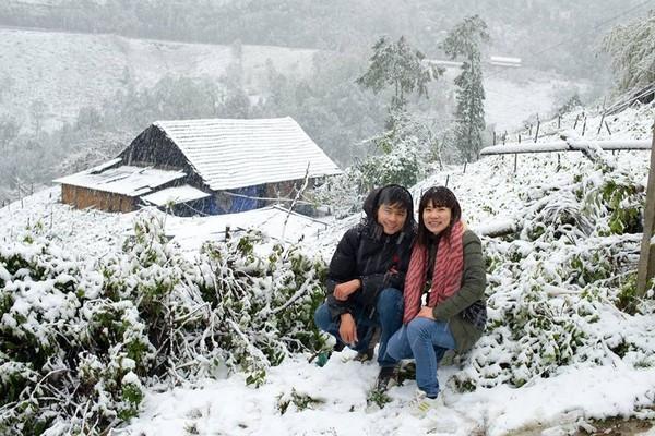 Nhiệt độ xuống thấp, nhiều người đang đoán xemSa Pa có tuyết rơi như mọi nămkhông.Ảnh: Internet