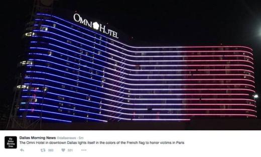 Khách sạn Omni tại Dallas, Mỹ.