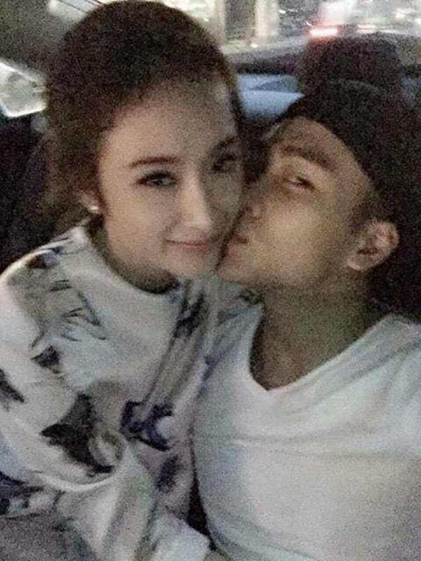 Lộ ảnh hot boy cảnh sát hôn Angela Phương Trinh trên ô tô