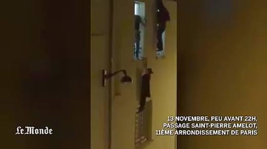 Kinh hoàng màn nổ súng truy đuổi con tin phía sau nhà hát Bataclan Paris
