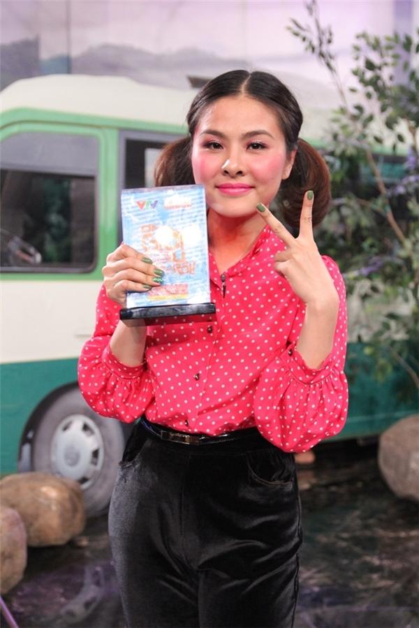 Vân Trang xuất sắc giành đượcgiải thưởng của tuần này. - Tin sao Viet - Tin tuc sao Viet - Scandal sao Viet - Tin tuc cua Sao - Tin cua Sao