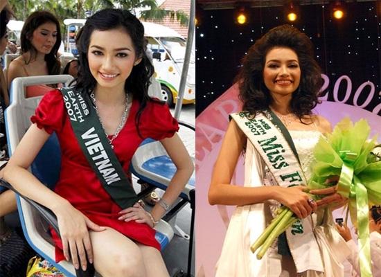 Hai năm sau, Trúc Diễm tham dự Hoa hậu Trái đất và đoạt giải Hoa hậu Thời trang. Không những vậy, cô còn danh dự được Global Beauty xếp vào top 50 Hoa hậu đẹp nhất thế giới. - Tin sao Viet - Tin tuc sao Viet - Scandal sao Viet - Tin tuc cua Sao - Tin cua Sao