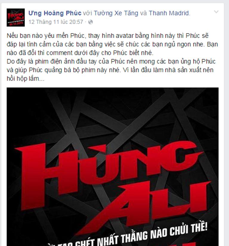 Vân Trang nhiệt tình ôm chặt Trường Giang, Hùng Ali công bố poster chính thức - Tin sao Viet - Tin tuc sao Viet - Scandal sao Viet - Tin tuc cua Sao - Tin cua Sao