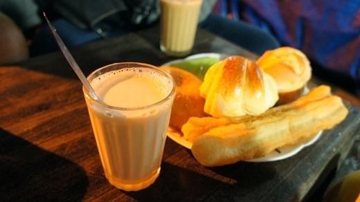 Sữa đậu nành nóng cho ngày đông Đà Lạt.
