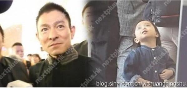 Hình ảnh hiếm hoi của con gái Lưu Đức Hoa.