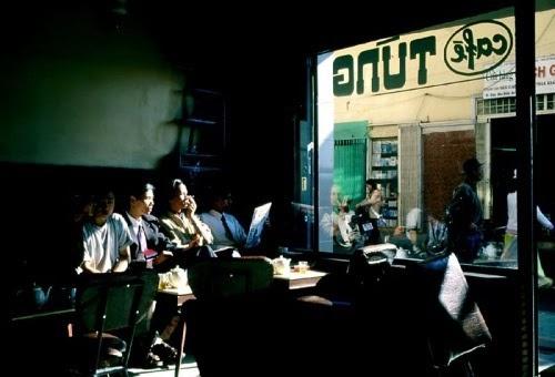 Không gian yên bình của quán cà phê Tùng ở Đà Lạt.