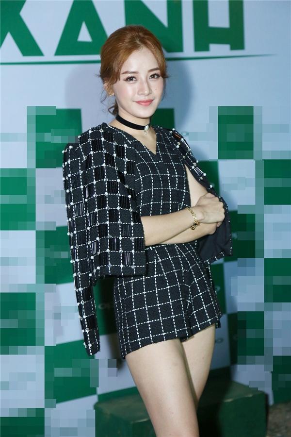 Nữ diễn viên diện trang phục họa tiếtca rô đen đầycá tính. - Tin sao Viet - Tin tuc sao Viet - Scandal sao Viet - Tin tuc cua Sao - Tin cua Sao