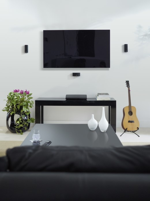 Hệ thống loa giải trí gia đình 5.1, SoundTouch 520 tăng vẻ thẩm mỹ cho không gian ngôi nhà của bạn