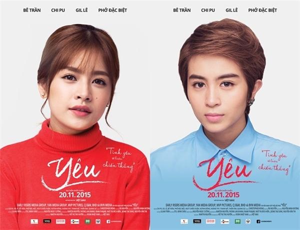 Kịch bản phim Yêu được mua bản quyền từ tác phẩm điện ảnh nổi tiếng của Thái Lan - The Love of Siam.