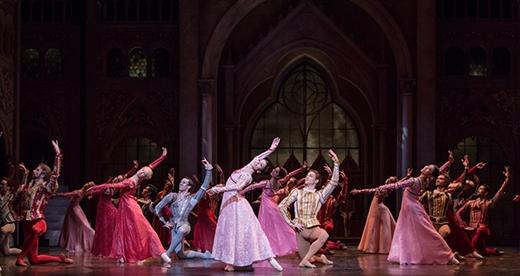 Từ Ballet với trích đoạn Romeo & Juliet...