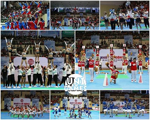 Màn trình diễn tuyệt vời của 8 đội thi đấu.